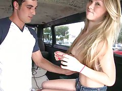 Sexy natural first teen tits bangbus blowjob