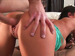 Doggy style nice tight ass penetration with Angelina Valentine