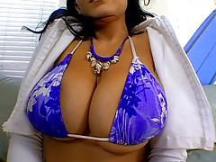 Big tits bikini babe Natasha Nice